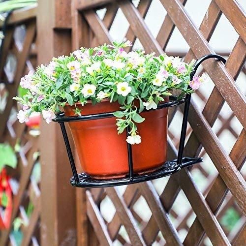 metal / iron art cestas colgantes flower pot holder -.