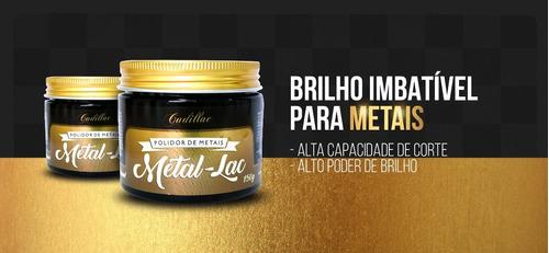 metal-lac polidor de metais cadillac - 150g