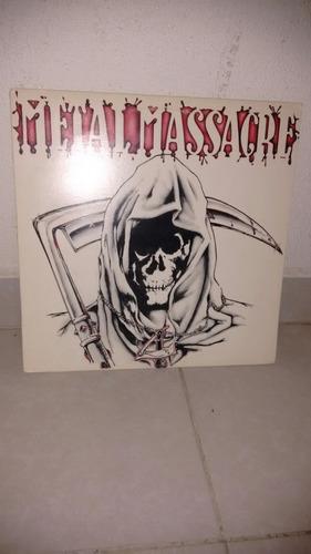 metal masacre lp metal blade