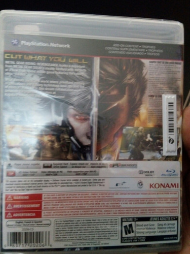 metal rising ps3