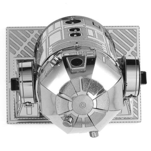 metal robô 3d laser cut kits modelo miniatura 2 sheets guer