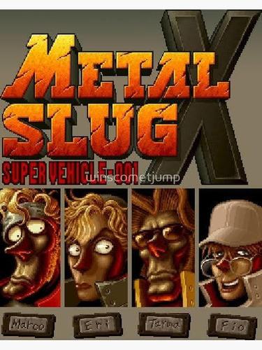 metal slug 1,2,3,4,5 y x apk para android