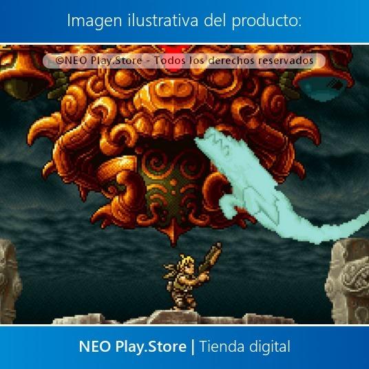 Metal Slug 3 Juego Ps4 Nuevo Cooperativo Multijugador Gtia 149