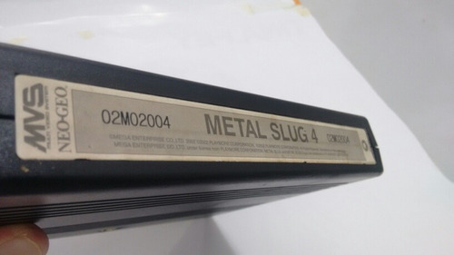metal slug 4 - neo geo - cartucho mvs - original