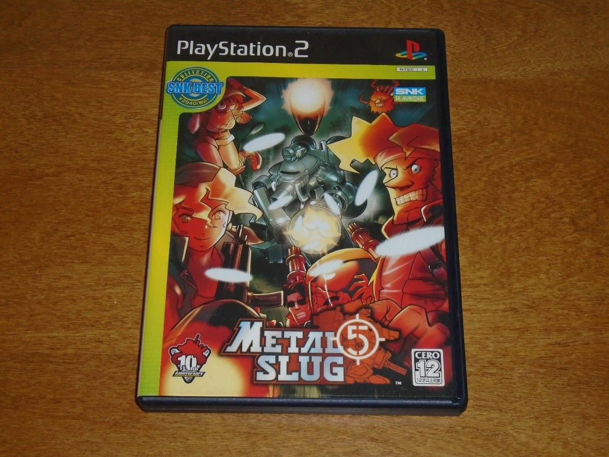 metal slug 5 playstation 2