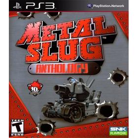Metal Slug Complete 1,2,3,4,5,6,x Ps3 Digital (no Disco)