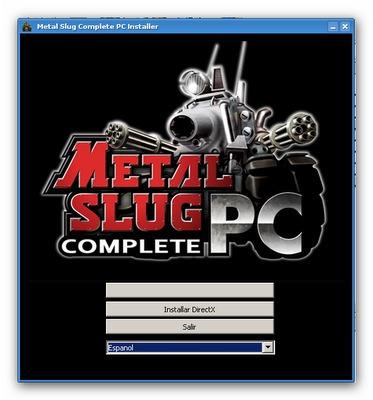 metal slug - juego para pc - digital