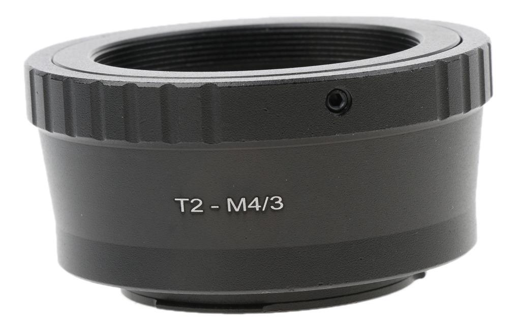 Adaptador de T2 Micro cuerpo 4//3 a T2 Lente Para Olympus /& Panasonic Micro 4//3 se monta