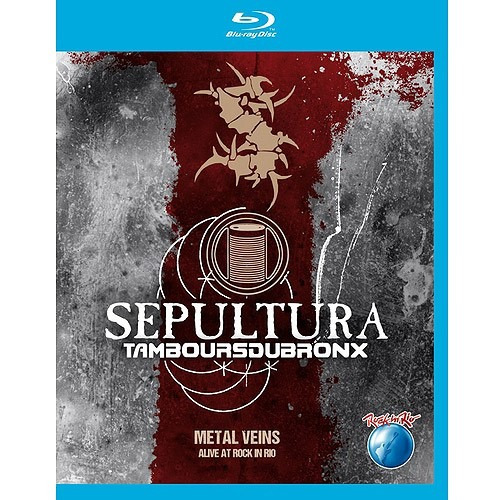 metal veins - alive at rock in rio (blu-ray)