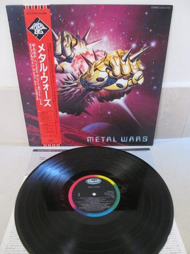 metal wars wasp helix queensryche japones encarte exc. est