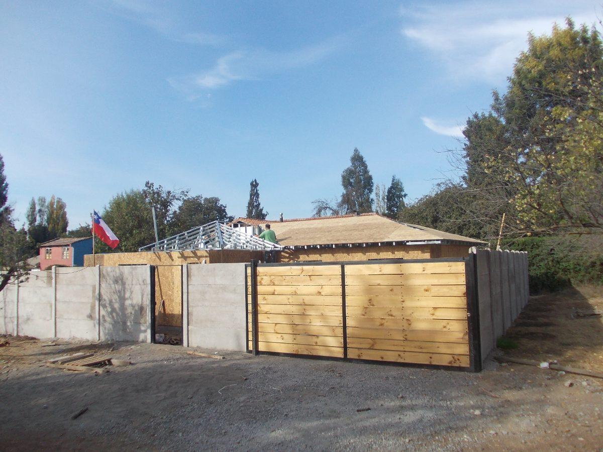Metalcom tabiques casas y ampliaciones 500 en mercado for Cuanto sale hacer una piscina en chile