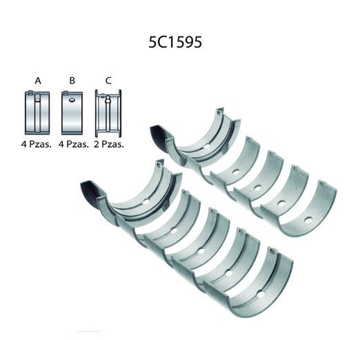 metales bancada nissan 1.6 tsuru e16 8 valvulas (010)
