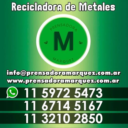 metales por mayor, compramos ya! cobre, aluminio, bronce,etc