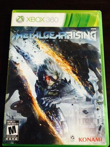 metalgearrising revengeance xbox 360