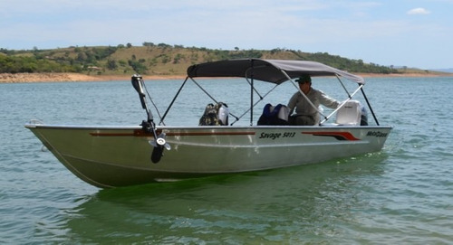 metalglass savage 5013 - 0 km - somente o barco bravonautica