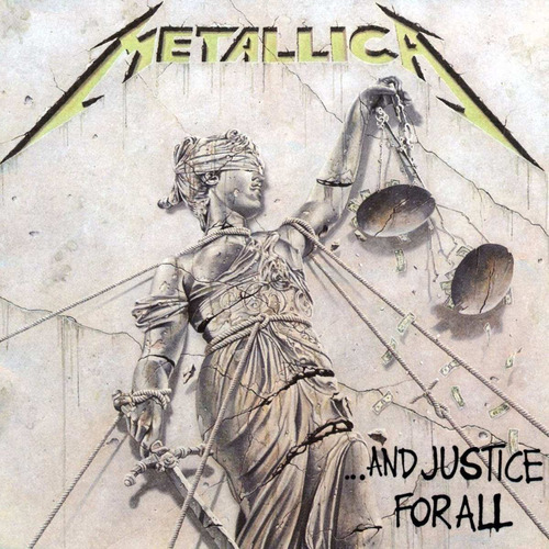metallica ... and justice for all [vinyl] reissue 180g 2lp