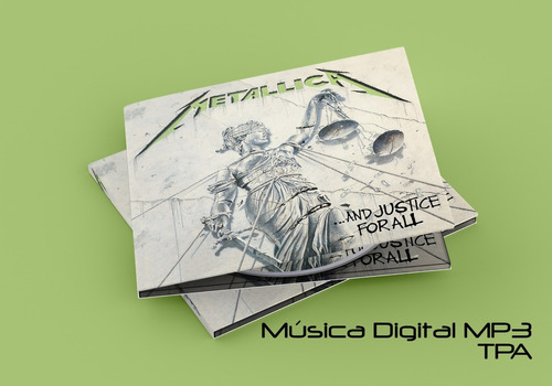 metallica ...and justice for all(deluxe box set)(música mp3)