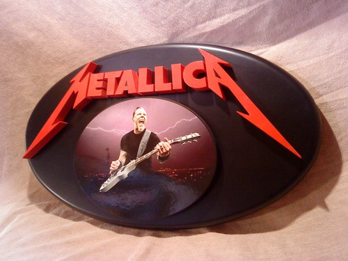 metallica cartel corporeo exclusivo !!!