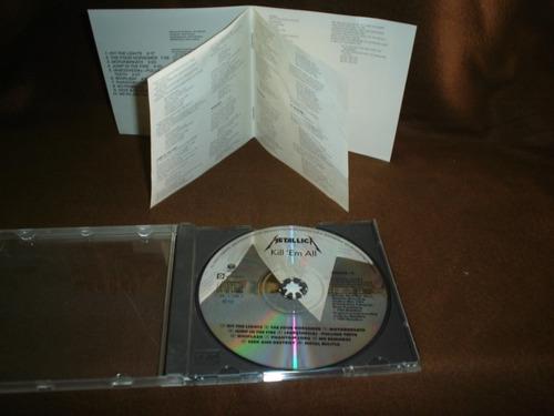 metallica - cd album - kill´ em all ddi