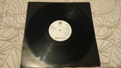 metallica - enter sandman (vinilo uk)