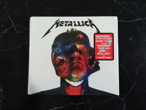 metallica hardwired... to sefl-destruct deluxe 3 cd set