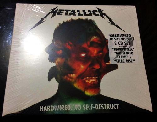 metallica - hardwired... to self-destruct (2 cd digipak)