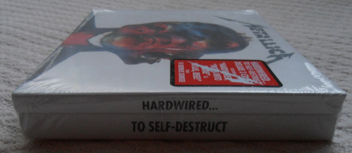 metallica - hardwired .. to self-destruct ( 3 c d ed. u s a)