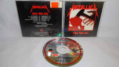 metallica ¿ kill 'em all (elektra 60766-2 w/ i¿m evil & blit