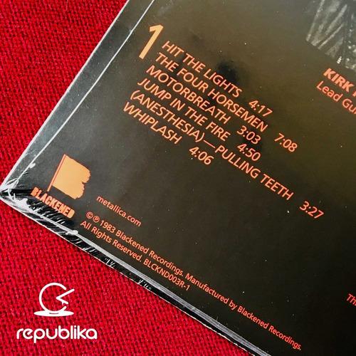 metallica - kill 'em all - lp nuevo sellado edición usa