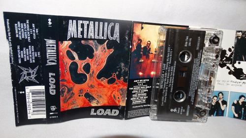 metallica - load (carcasa:vg - inserto:ex)