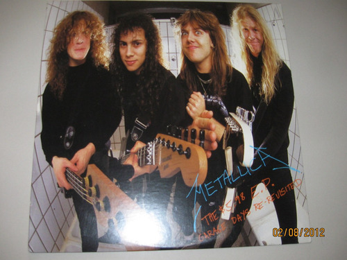 metallica lp garage days re-revisited 1987 elektra u.s.a