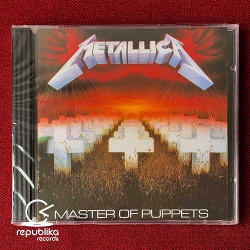 metallica - master of puppets - cd sellado nuevo europa