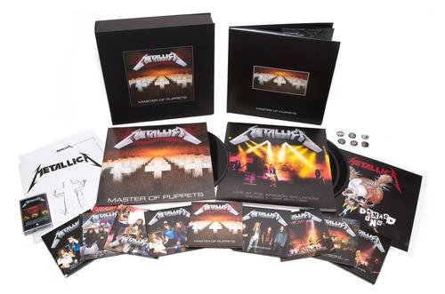 metallica master of puppets deluxe box set nuevo 10/11