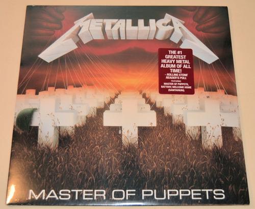 metallica - master of puppets - lp  nuevo disponible