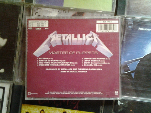 metallica master of puppets omi