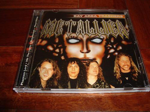 metallica ( megadeth)  bay area trashers cd bootleg