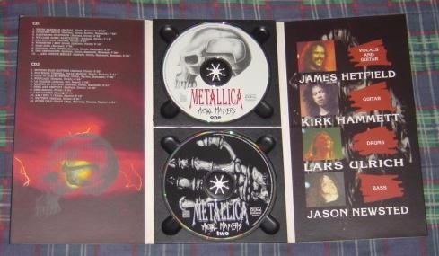 metallica - metal masters (bootleg - made in italy)