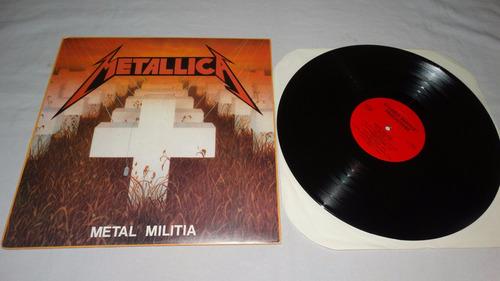 metallica - metal militia '86 (studded bracelet productions