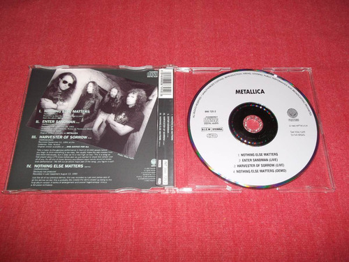 metallica - nothing else matters cd ep usa ed 1992 mdisk