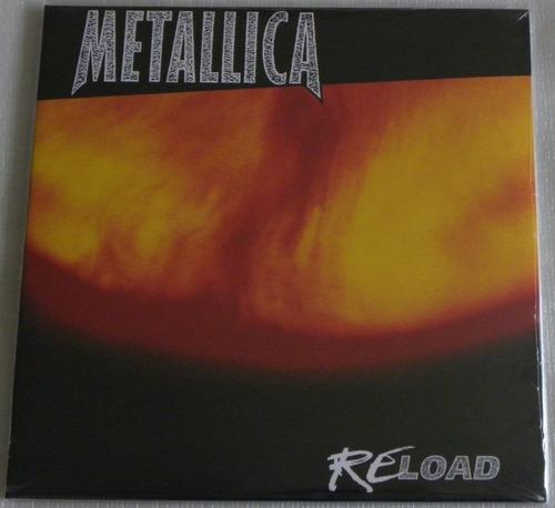 metallica reload 2 lp selado made in europe re load