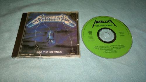 metallica ride the lighting en formato cd,funcionando perf
