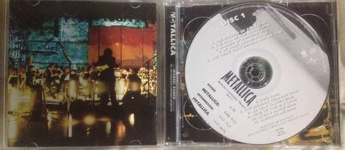 metallica - s & m (disco doble)