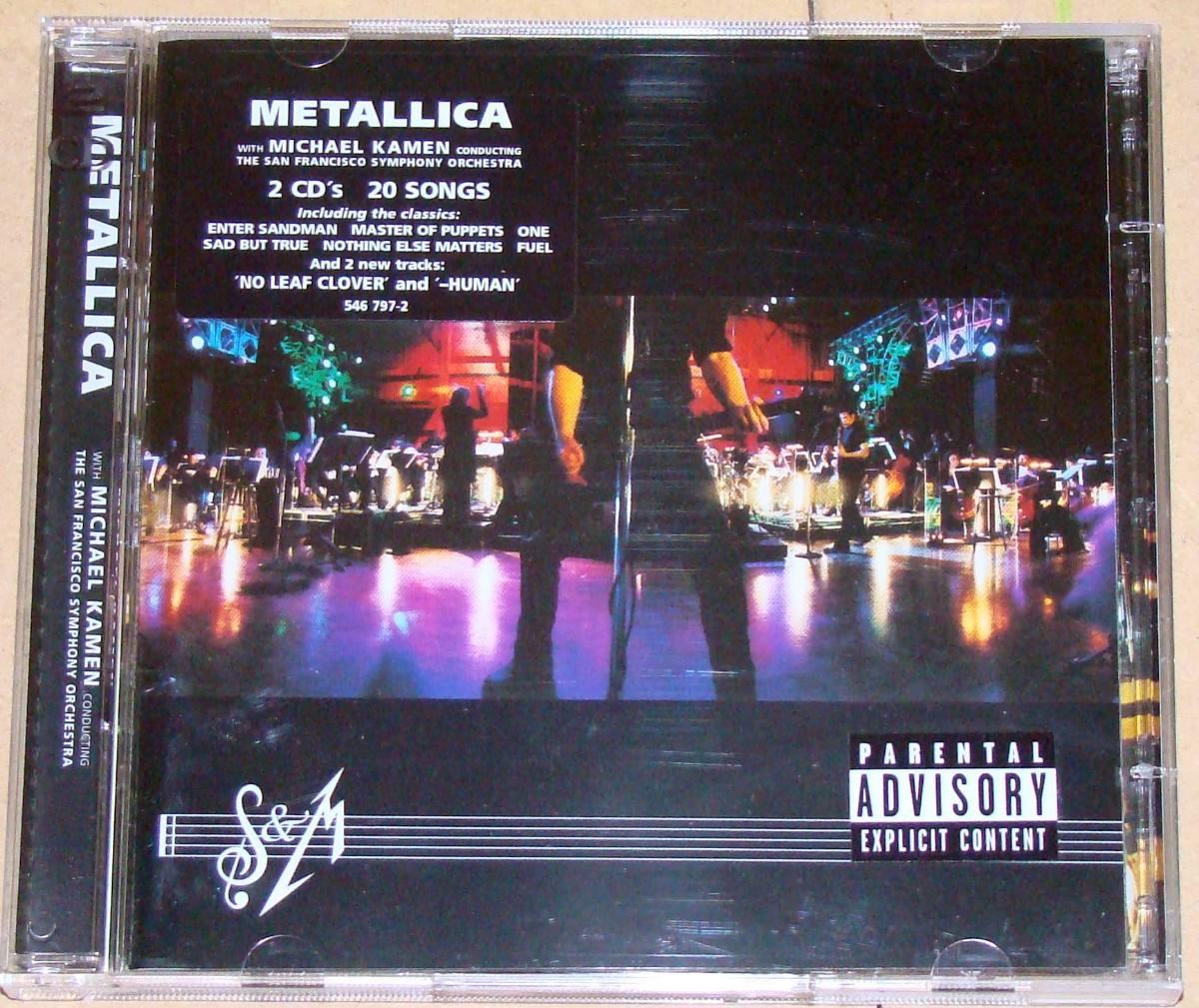 cd metallica sinfonica