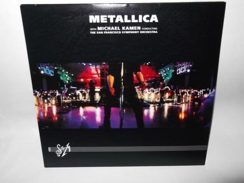 metallica s&m lp vinil acetato sinfonico megadeth dist0