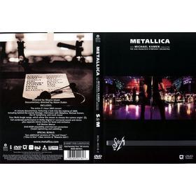Metallica S&m Symphony Orchestra 2 Dvds Novos Raros Lacrados