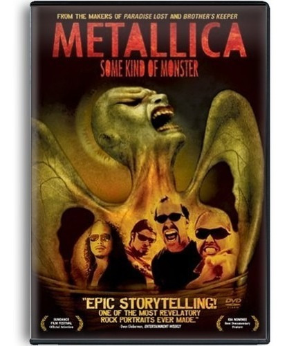 metallica some kind of moster documental 2 dvd s