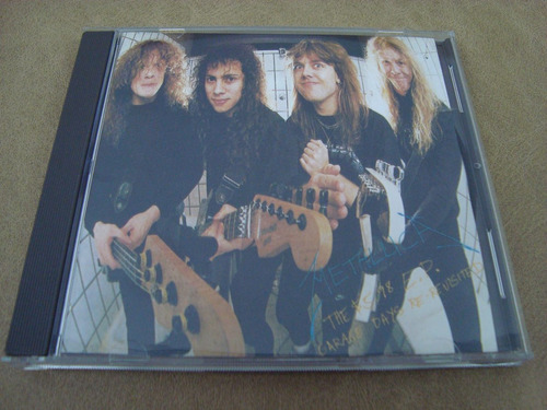 metallica  the $ 5.98 e.p. garage days re-revisited  cd