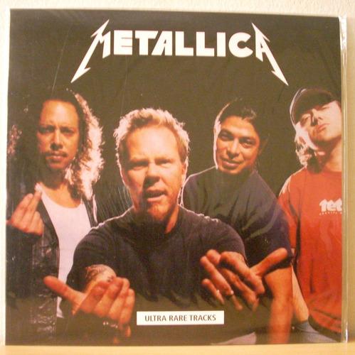 metallica - ultra rare tracks (vinilo nuevo y sellado)
