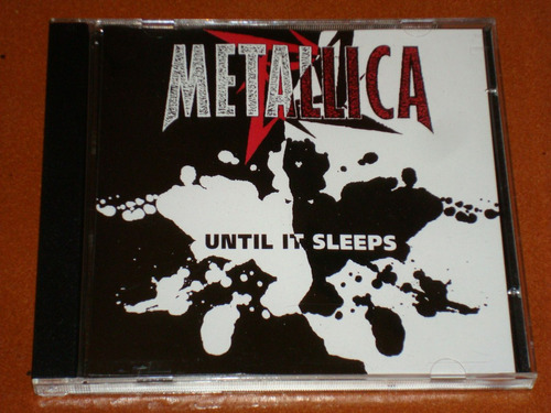 metallica until it sleeps cd promo gringo, muy raro !!