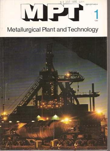 metallurgical plant & technology 1/1981-/metalurgia-alemania